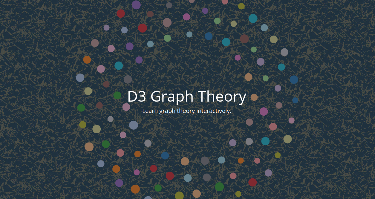 d3graphTheory