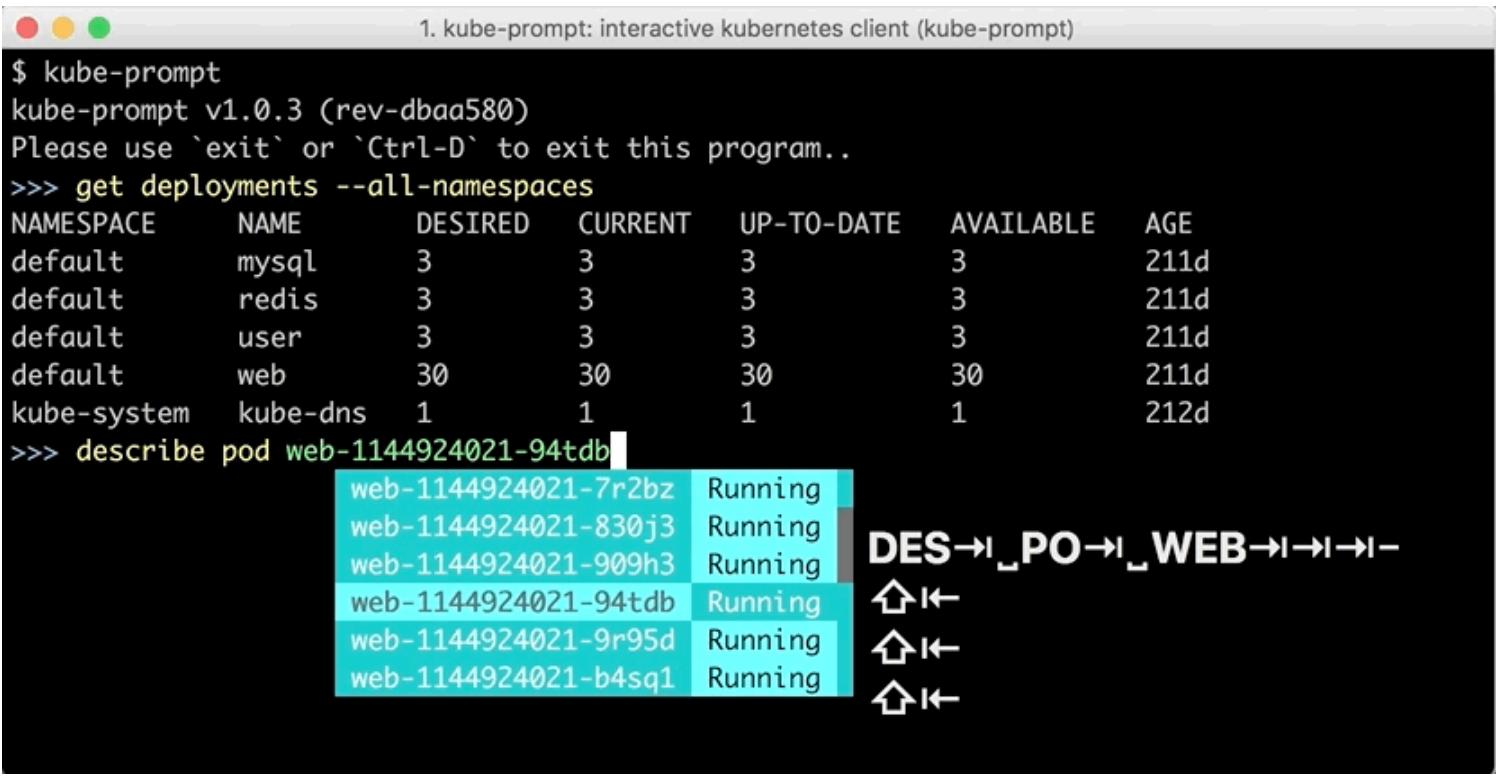 GitHub - c-bata/go-prompt: Building powerful interactive