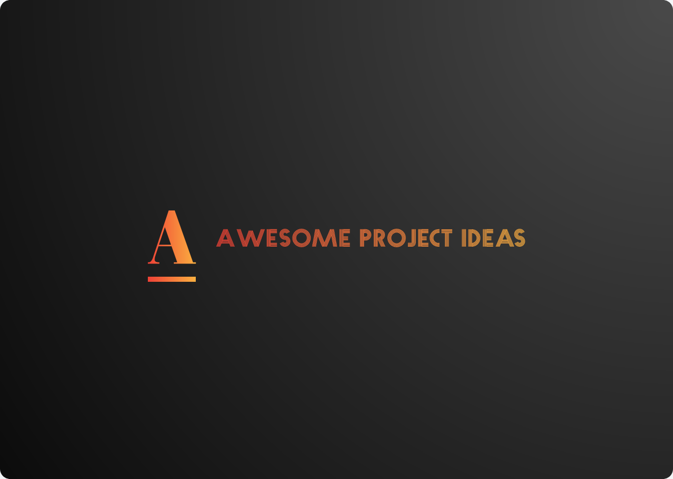 awesome-project-ideas