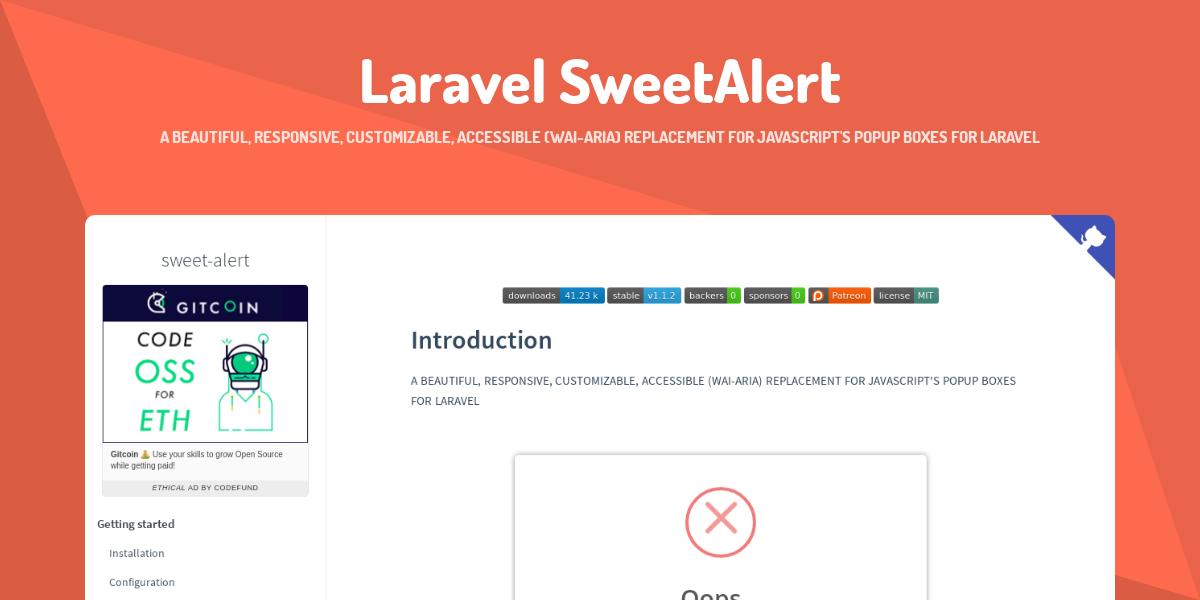 sweet-alert