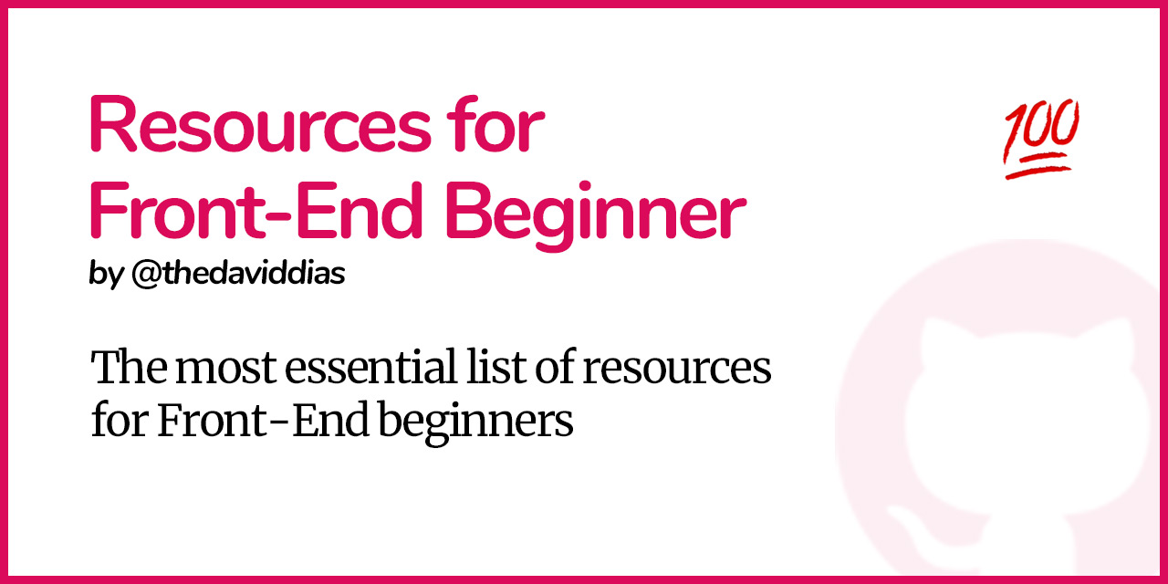 Resources-Front-End-Beginner