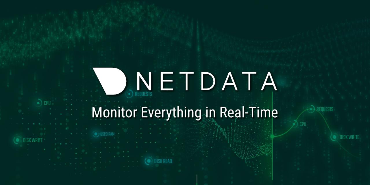 GitHub - netdata/netdata: Real-time performance monitoring