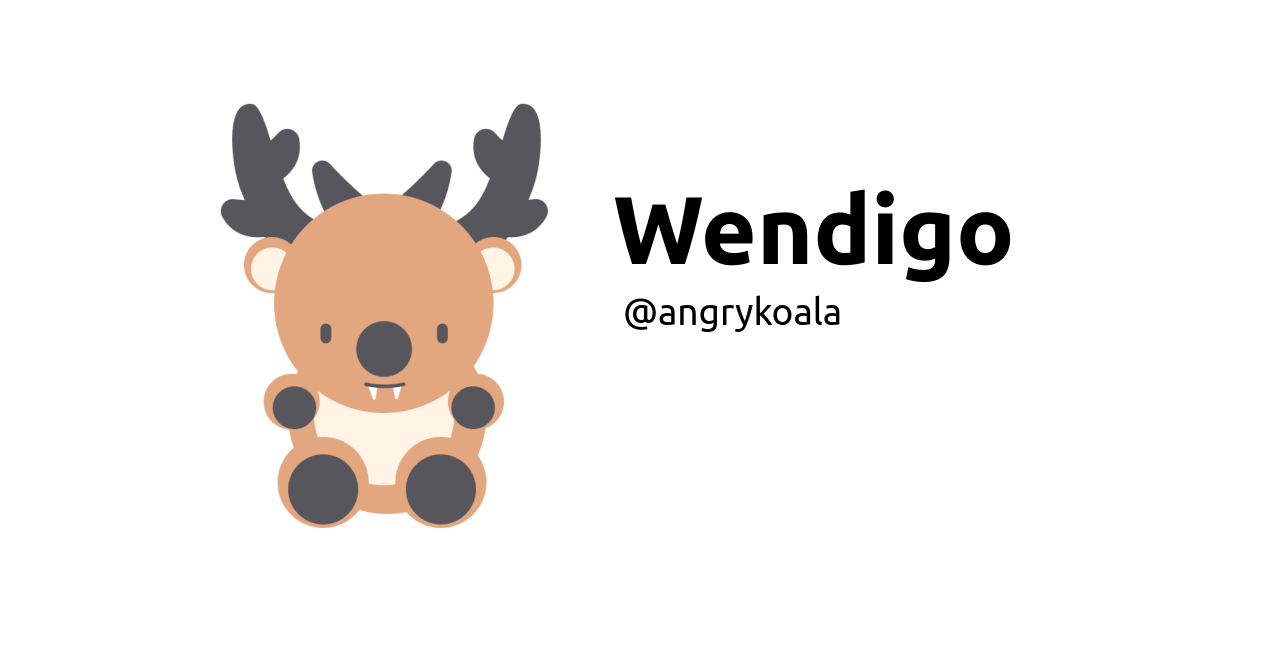GitHub - angrykoala/wendigo: A proper monster for front-end