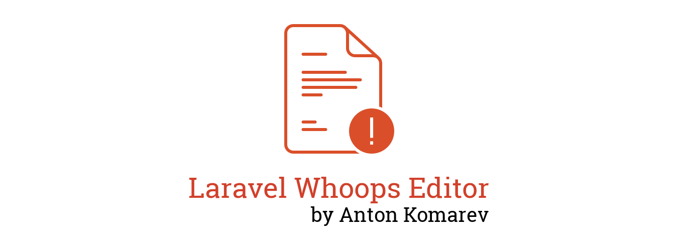 laravel-whoops-editor