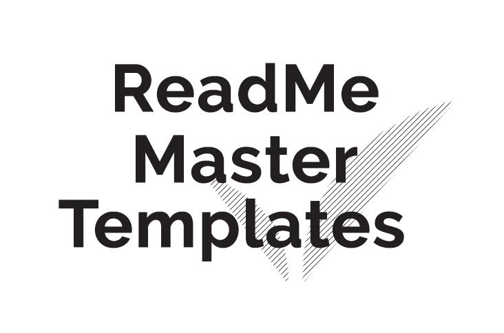 ReadMe-MasterTemplates