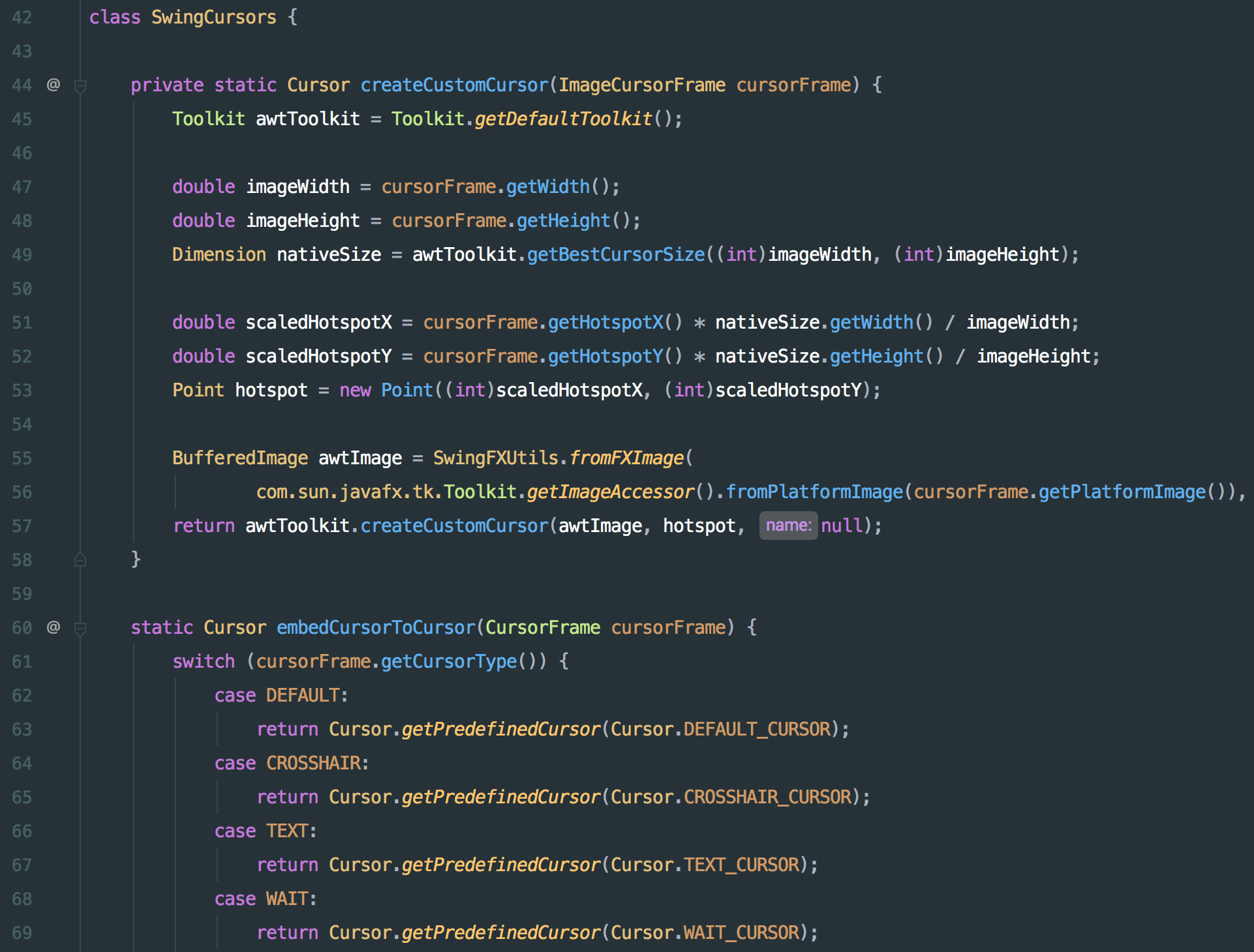 One-Dark-syntax-theme-for-JetBrains-IDEs