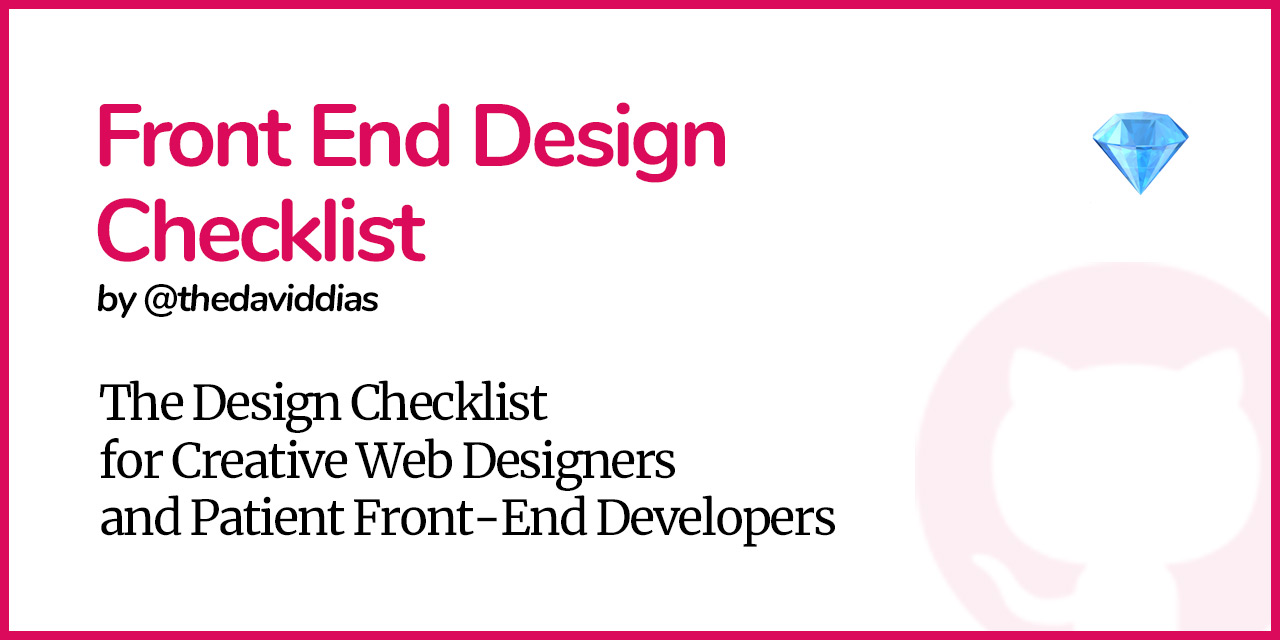 Front-End-Design-Checklist