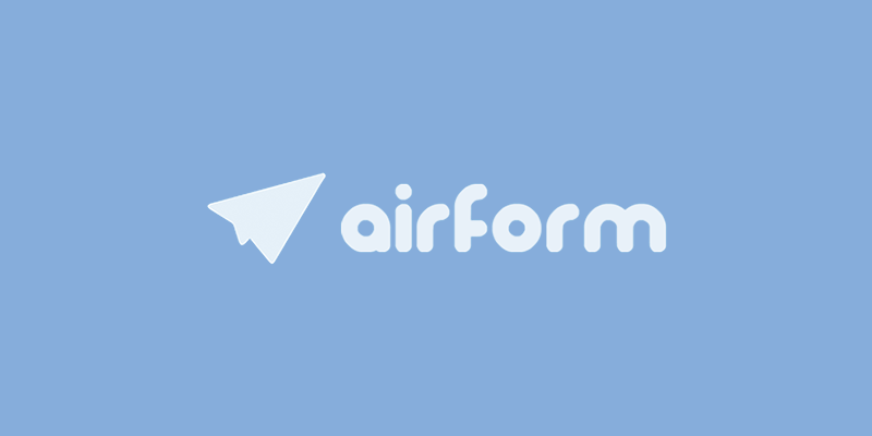 Airform - Functional HTML forms for Polymer Developers.