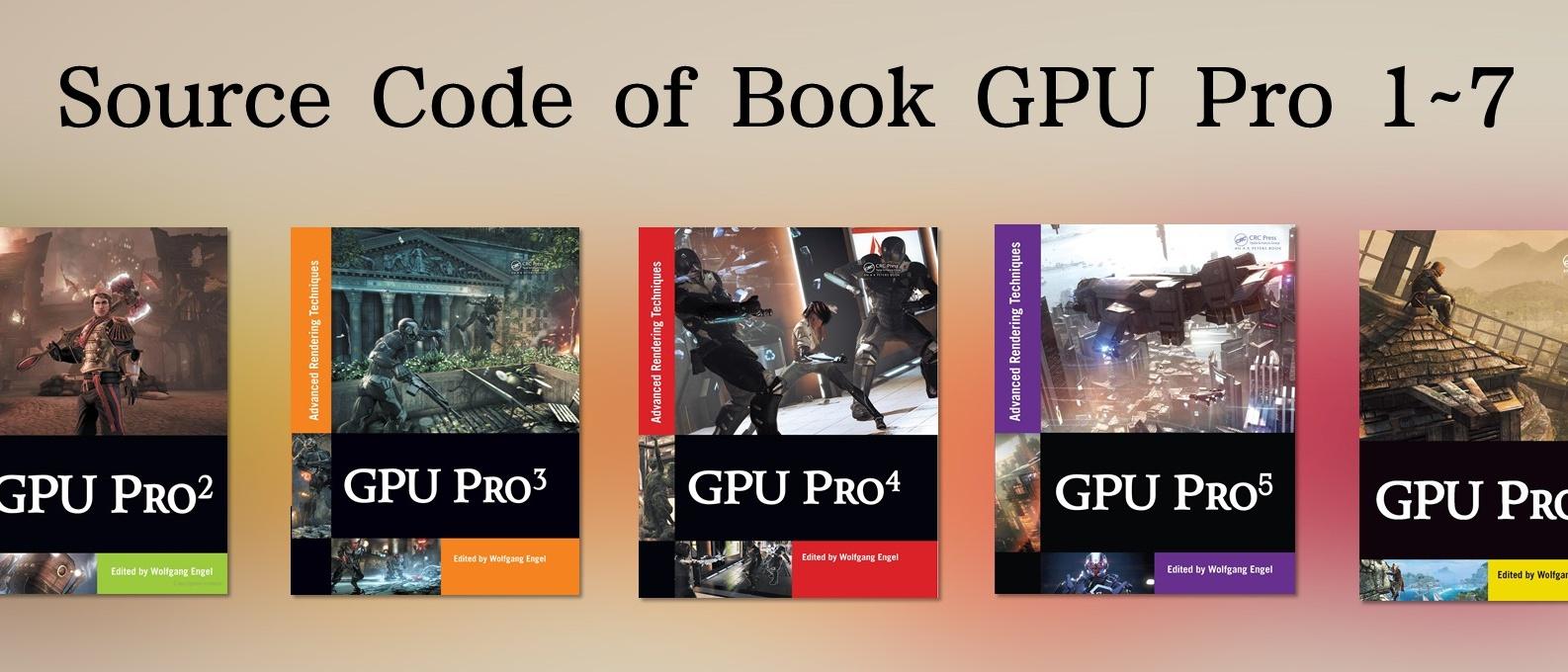 GPU-Pro-Books-Source-Code
