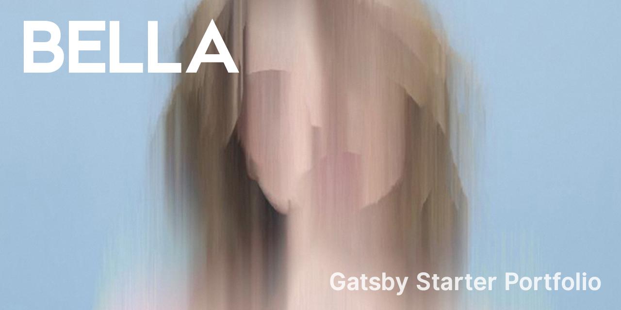 gatsby-starter-portfolio-bella