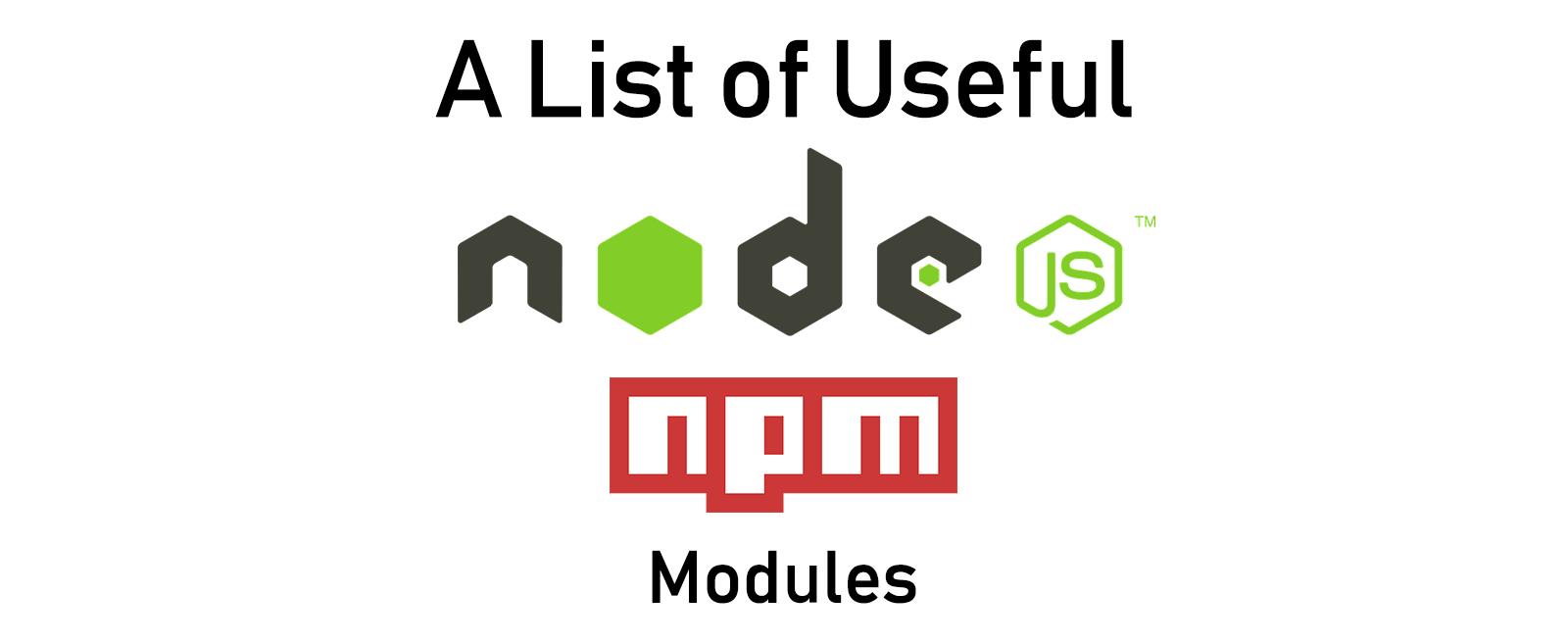 A-to-Z-List-of-Useful-Node.js-Modules
