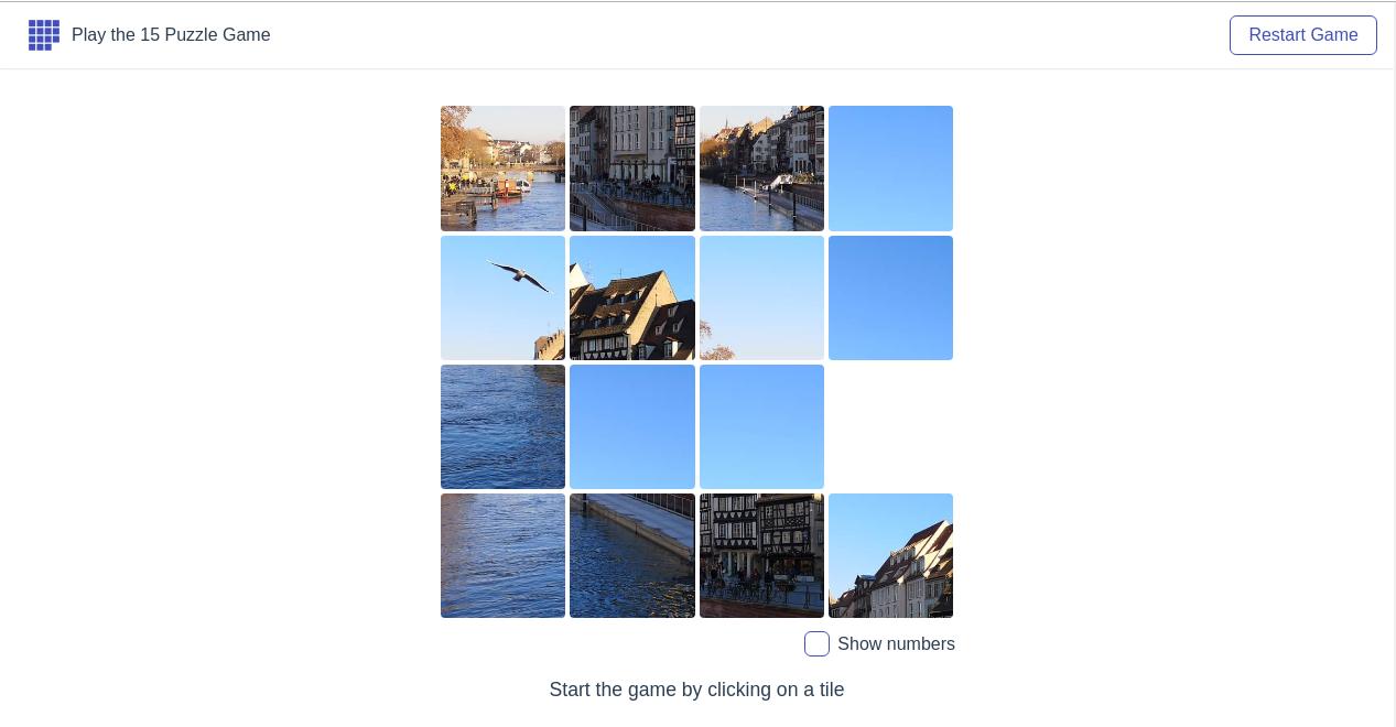 15-puzzle · GitHub Topics · GitHub