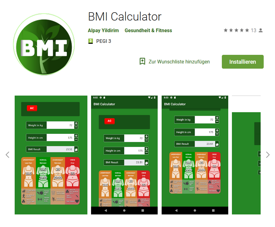 BMI-Calculator-Android-Java-App