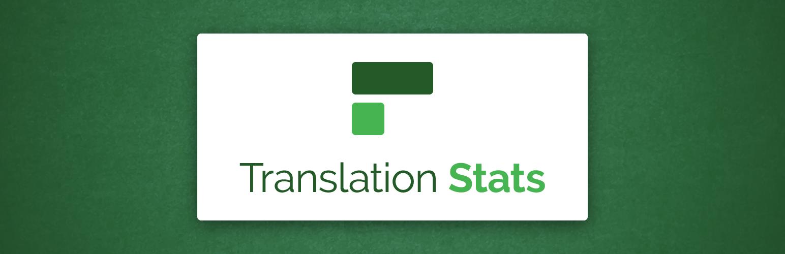 Translation Stats banner
