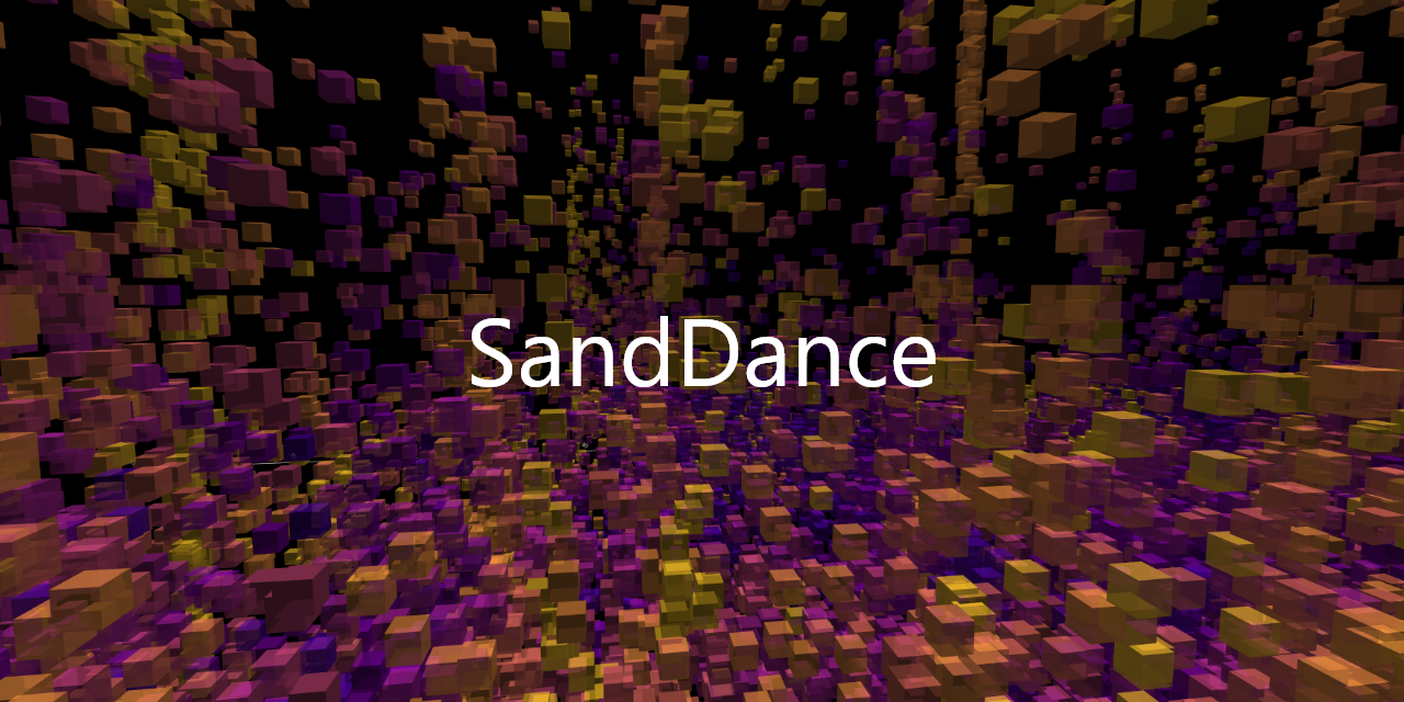 microsoft/SandDance
