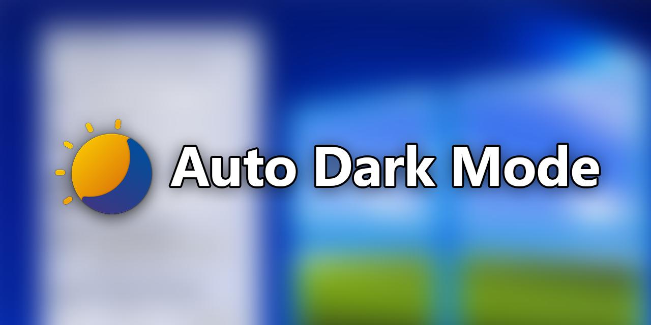 Windows-Auto-Night-Mode