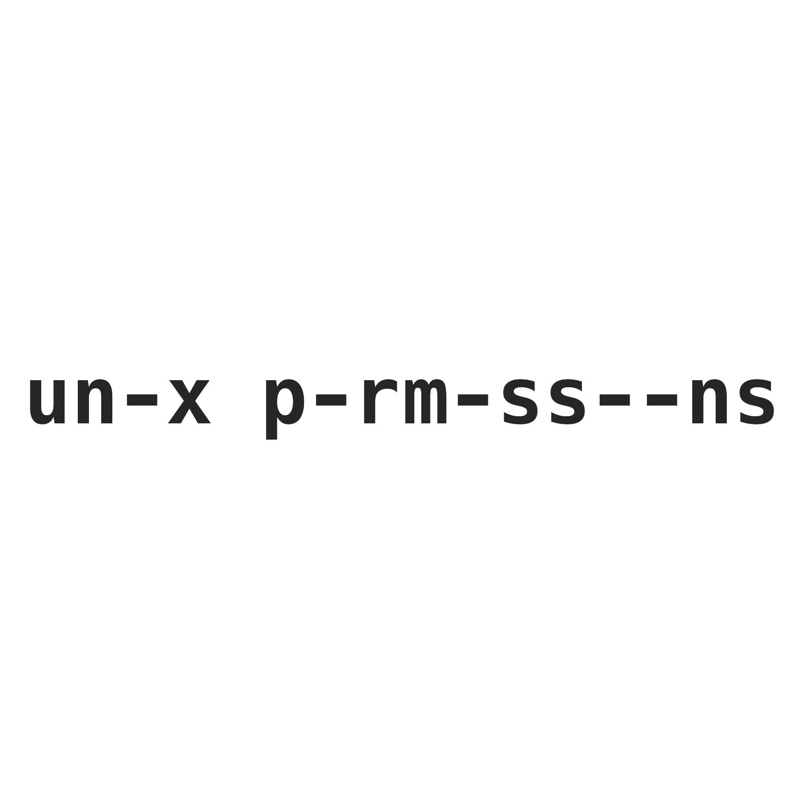 unix-permissions