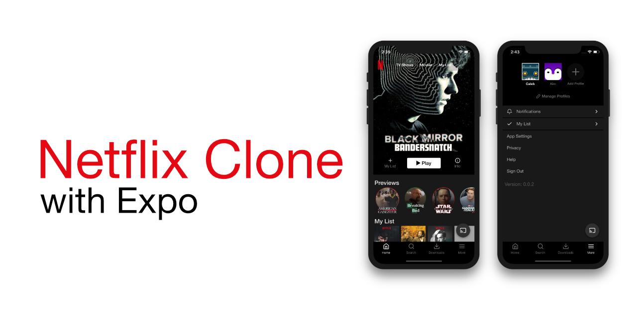 GitHub - calebnance/expo-netflix: netflix clone with expo
