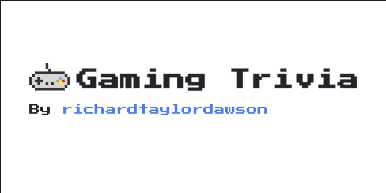 trivia-game · GitHub Topics · GitHub