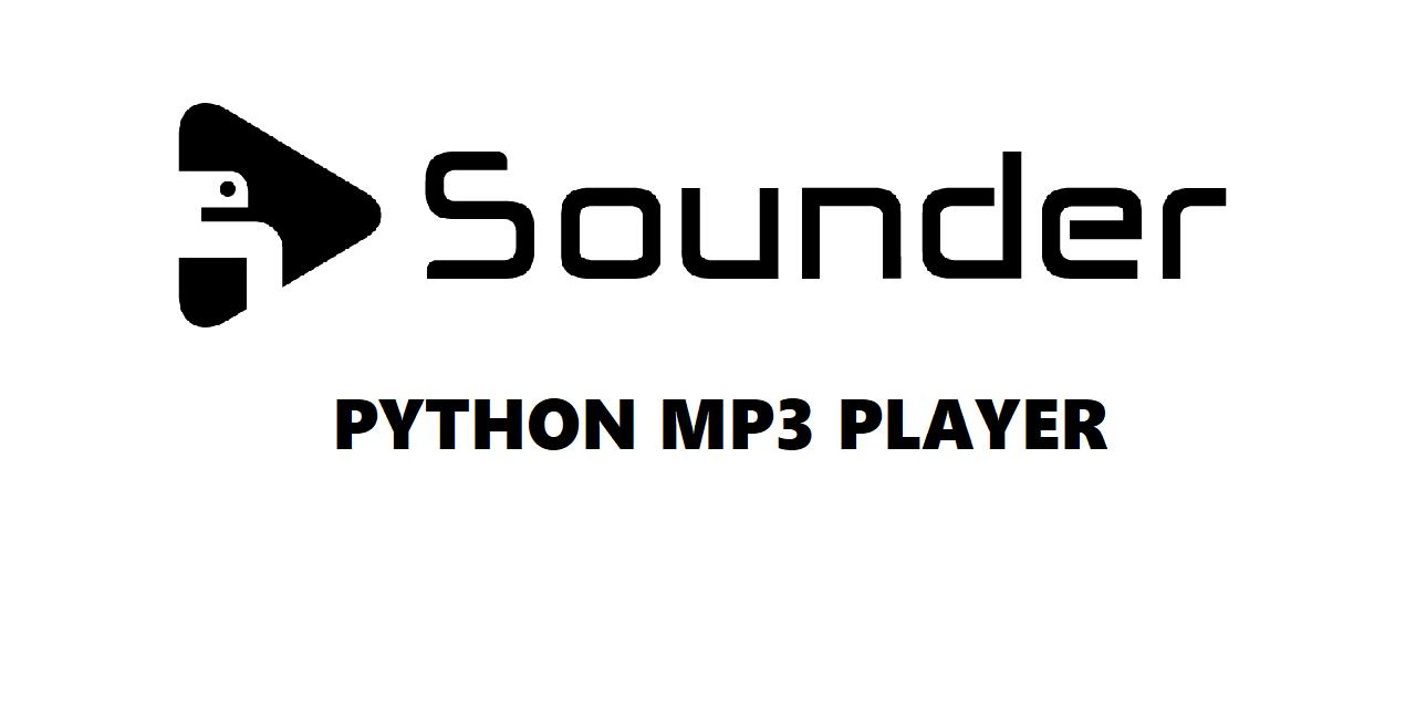 GitHub - losek1/Sounder: Python mp3 music player