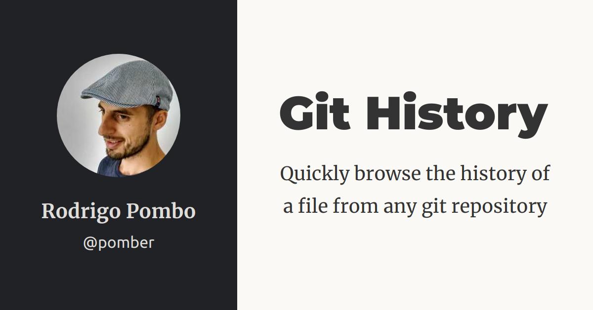 git-history