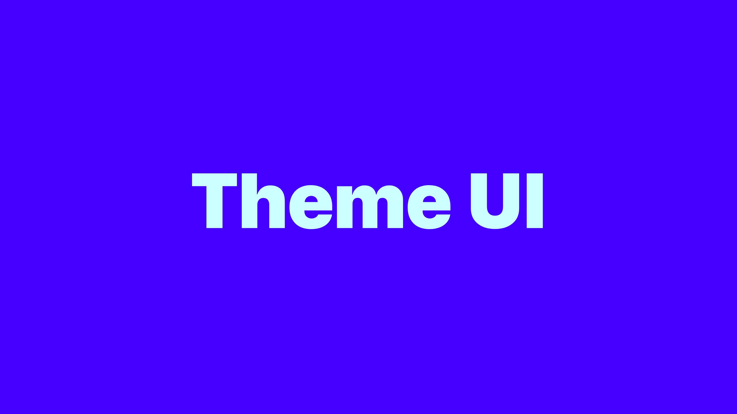 theme-ui