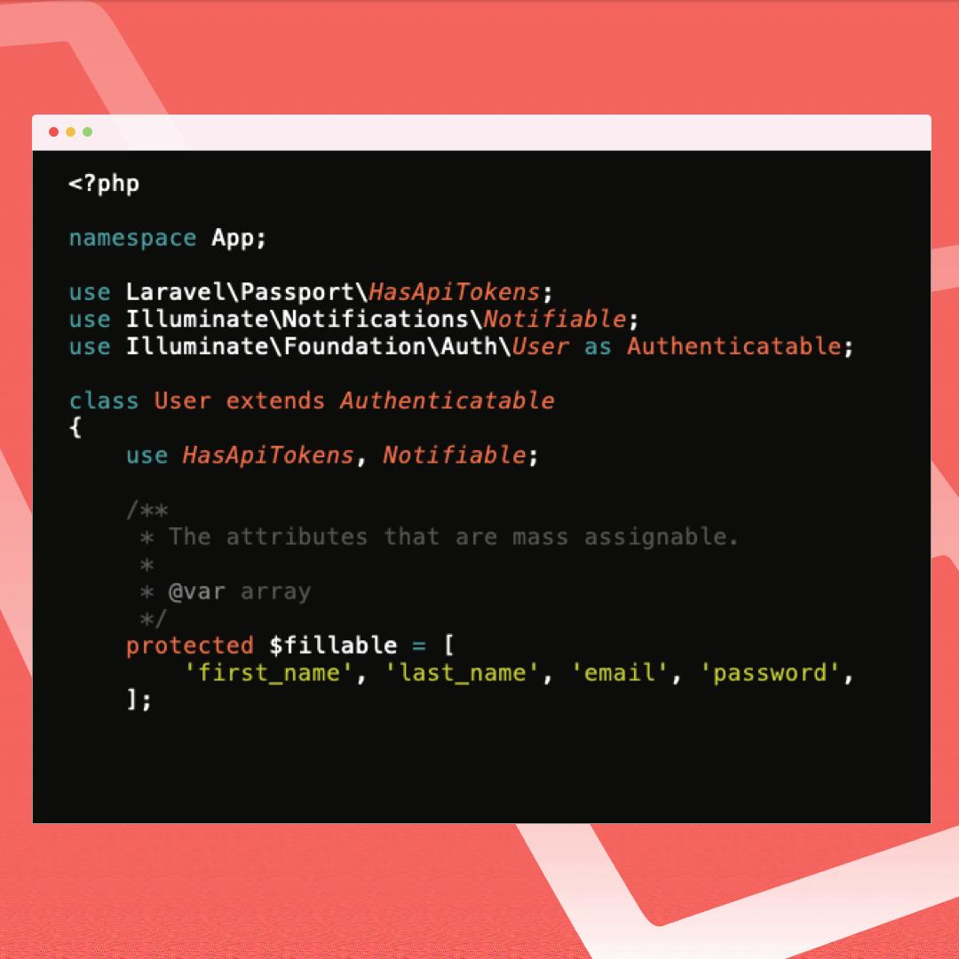 example code formatting