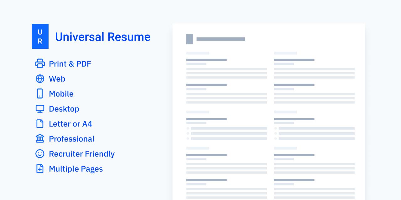 universal-resume