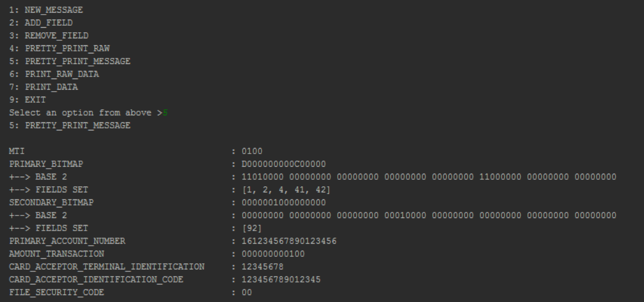 GitHub - brandonlenz/iso-8583: A Java library for parsing