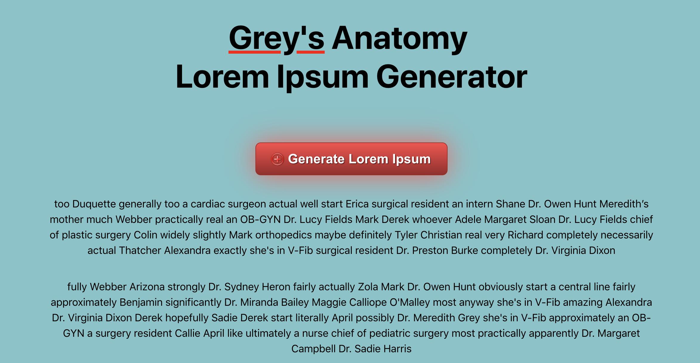 Lorem Ipsum Generator Github Topics Github