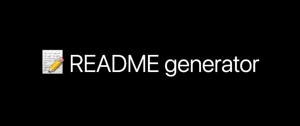 readme-md-generator