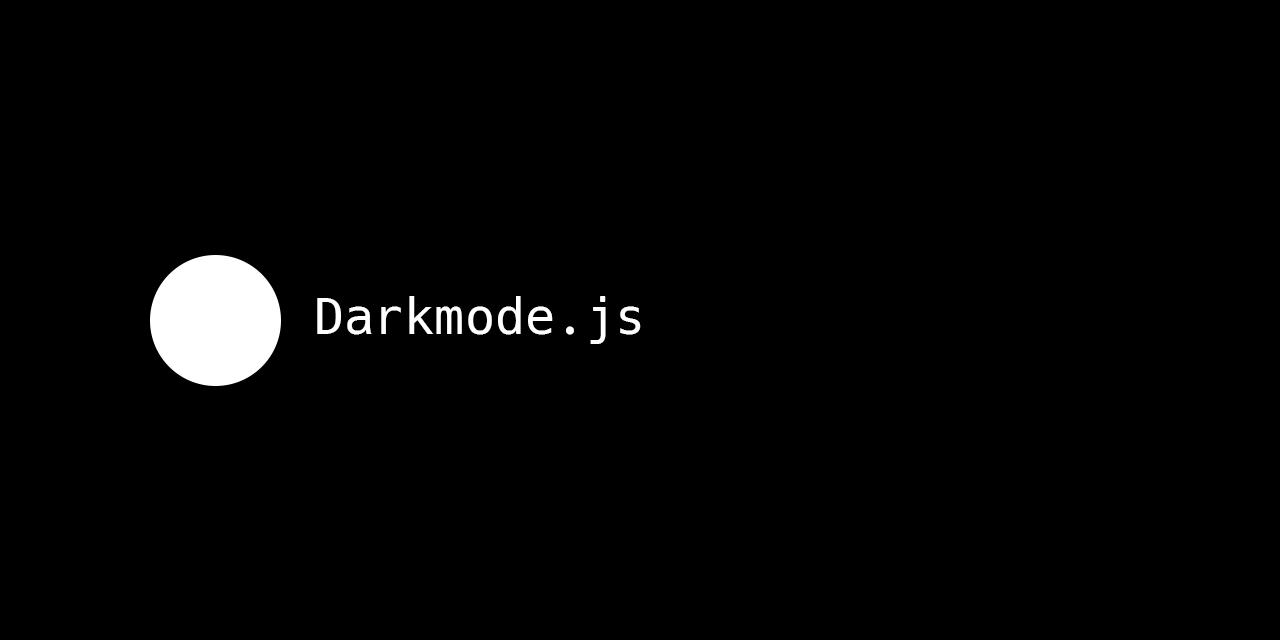 Darkmode.js