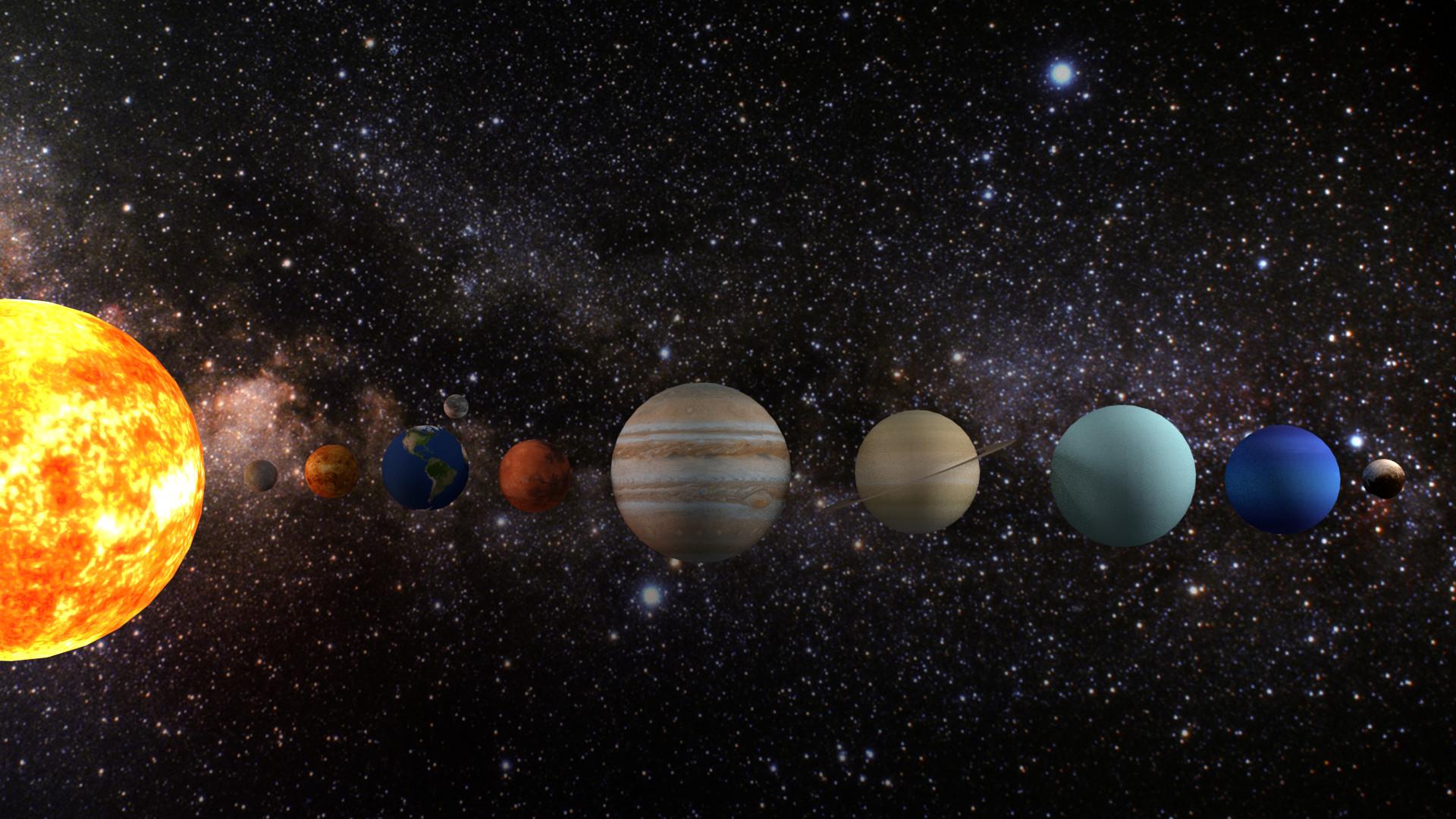 Космос картинки планеты солнечной системы