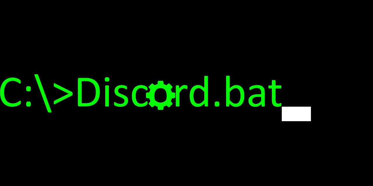 discord.bat