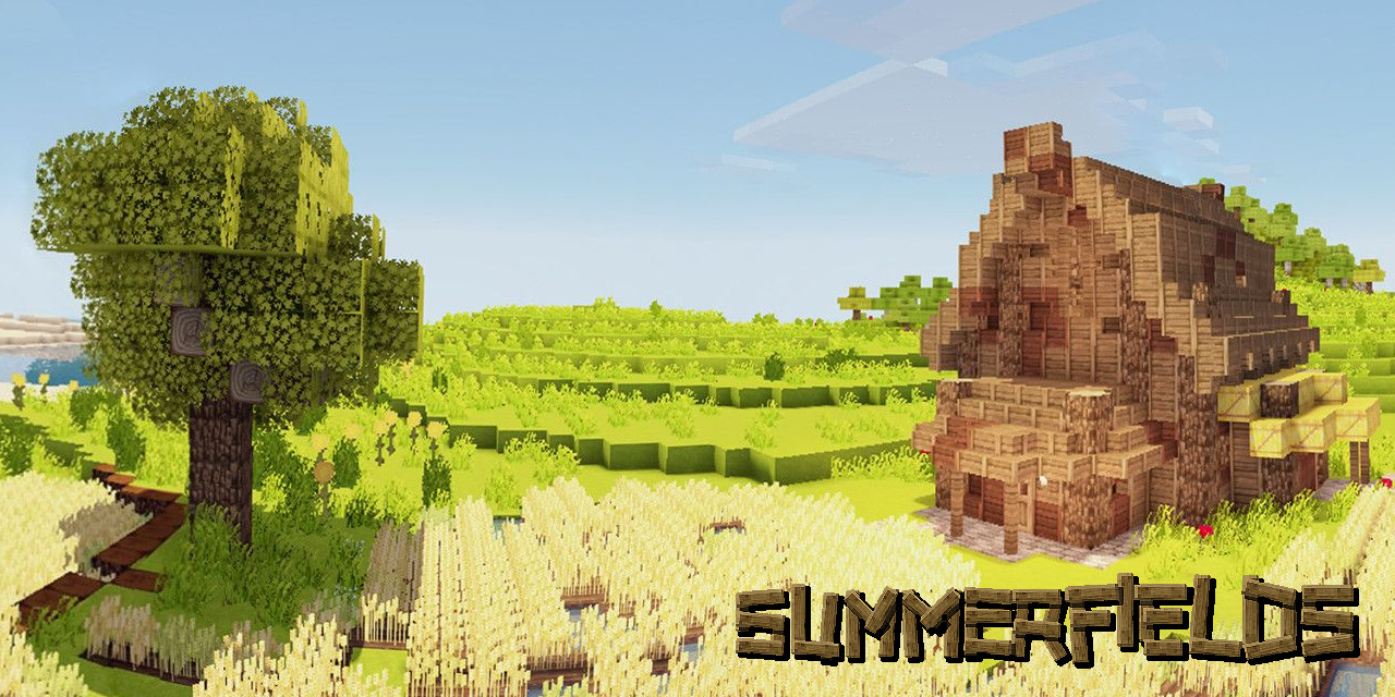 Github Summerfields Summerfields The Summerfields Resource Pack For Minecraft Java Edition