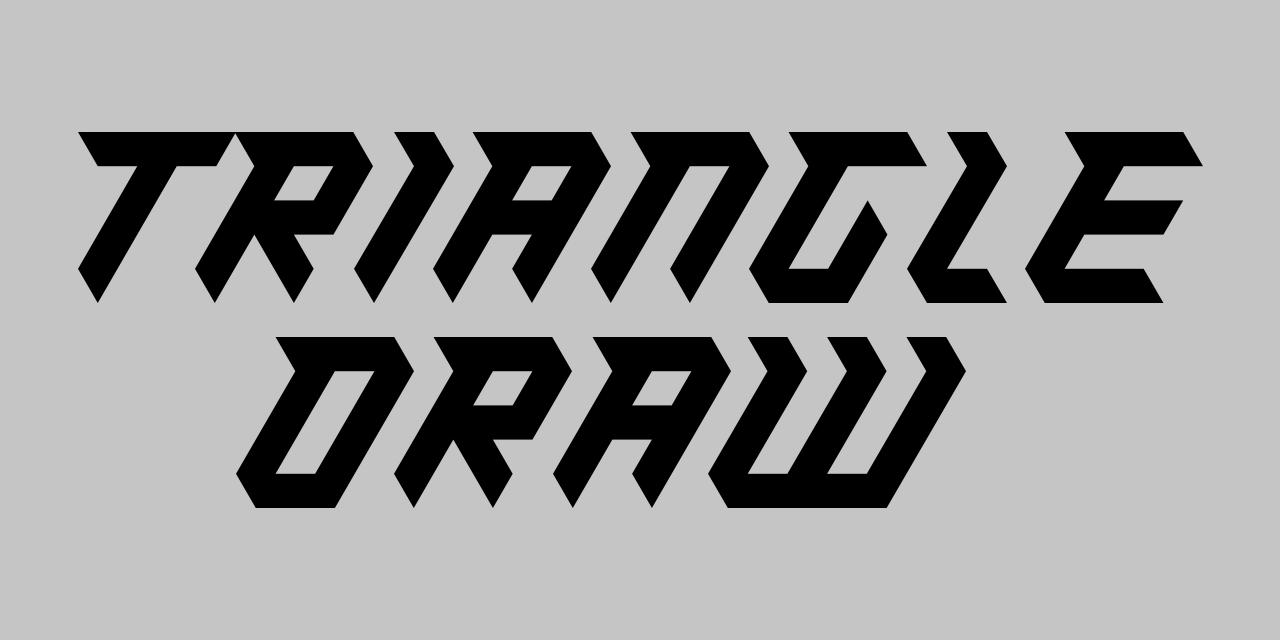 TriangleDraw-iOS