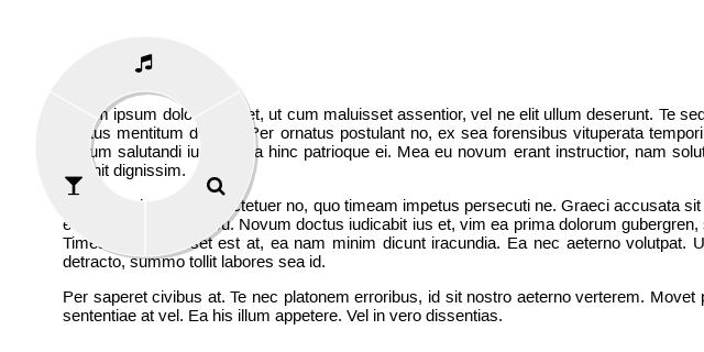 GitHub - victorqribeiro/radialMenu: A highly customizable