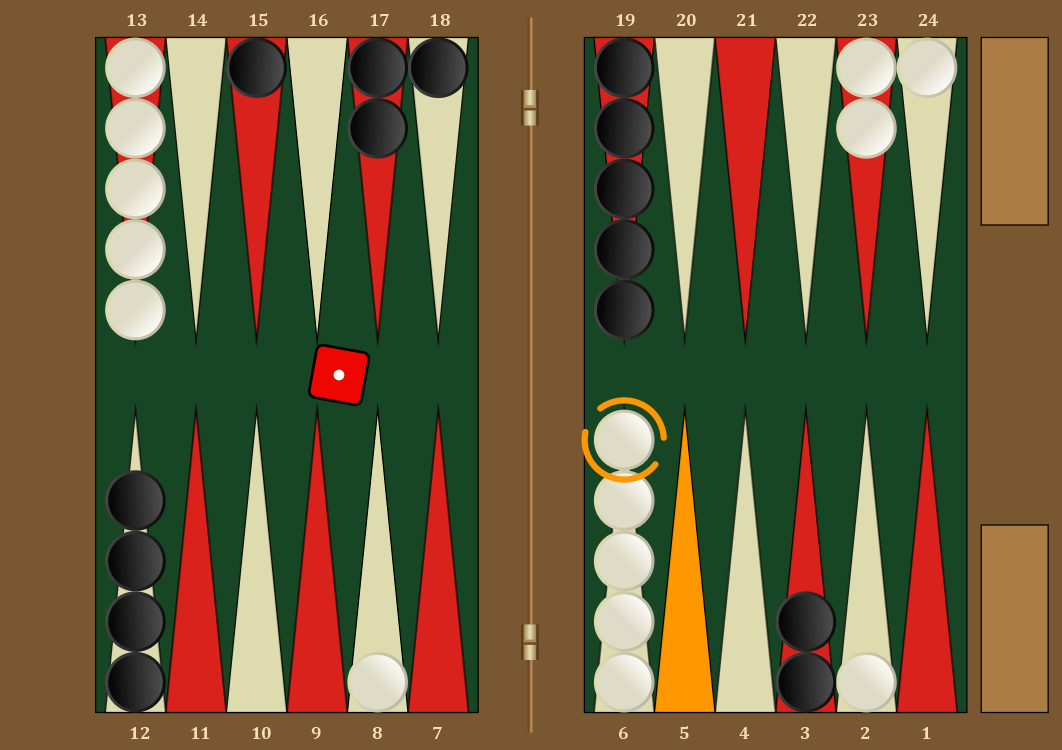 expectiminimax-backgammon