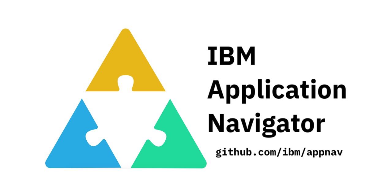 GitHub - IBM/appnav: IBM Application Navigator