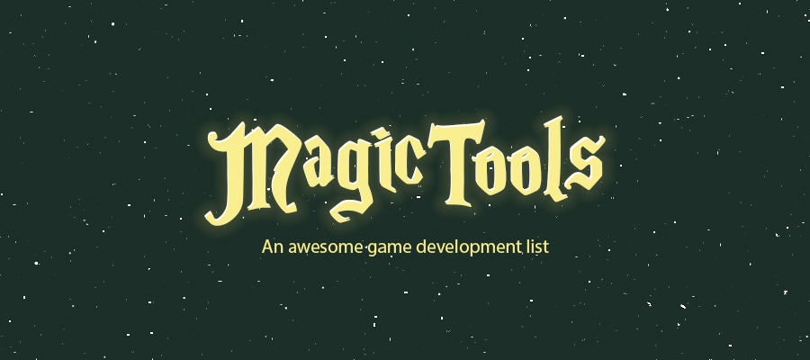 GitHub - ellisonleao/magictools: A list of Game Development