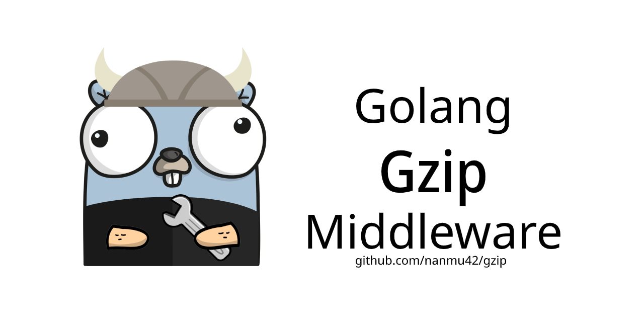 Golang Gzip Middleware