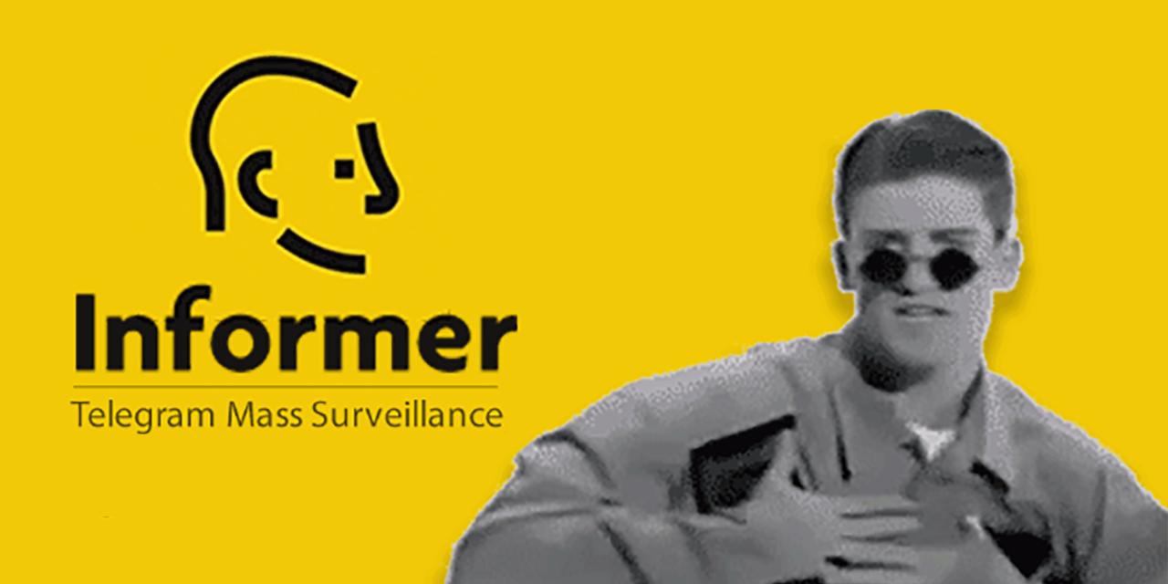 GitHub - paulpierre/informer: A Telegram Mass Surveillance