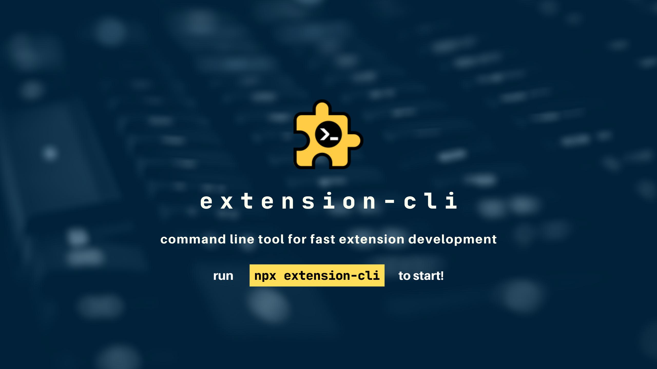 extension-cli