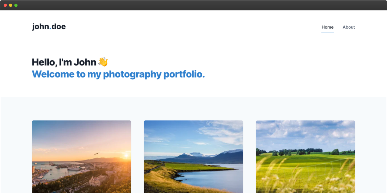 gatsby-contentful-portfolio