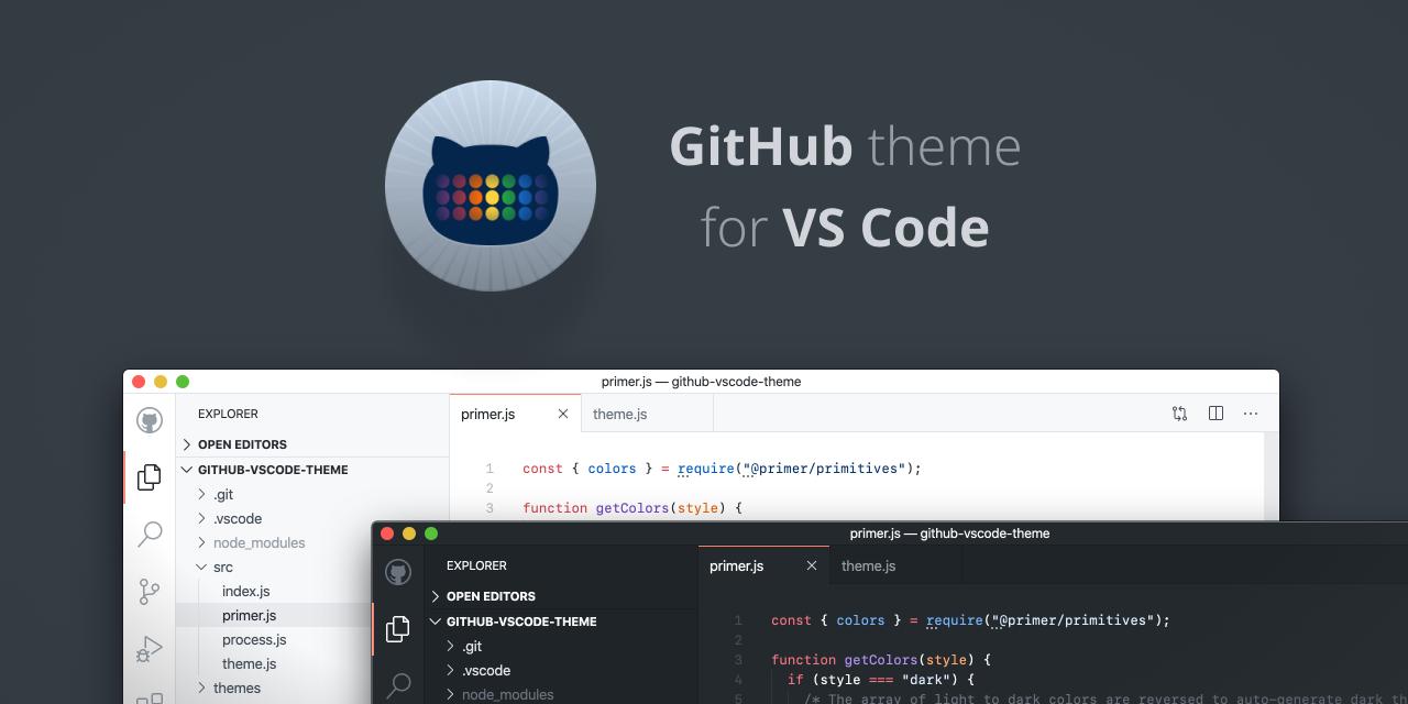 github-vscode-theme