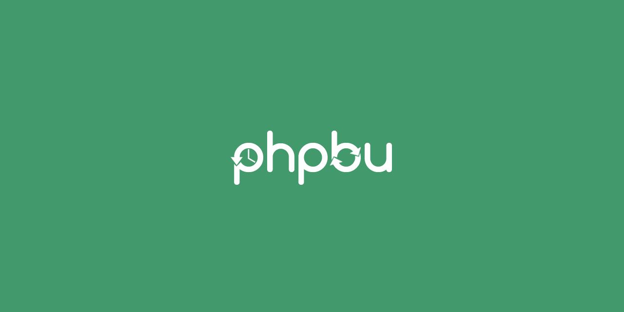 phpbu