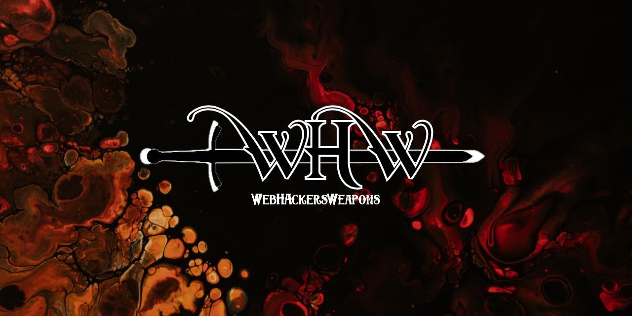 WebHackersWeapons