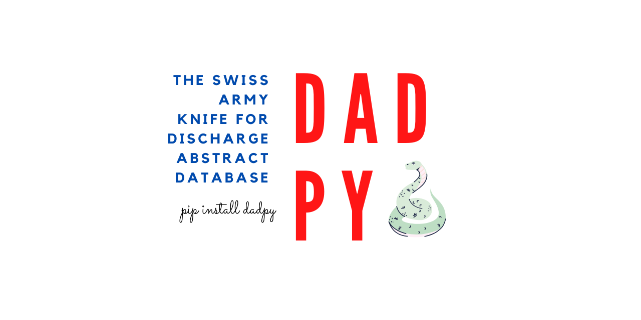DADpy: The swiss army knife for discharge abstract database