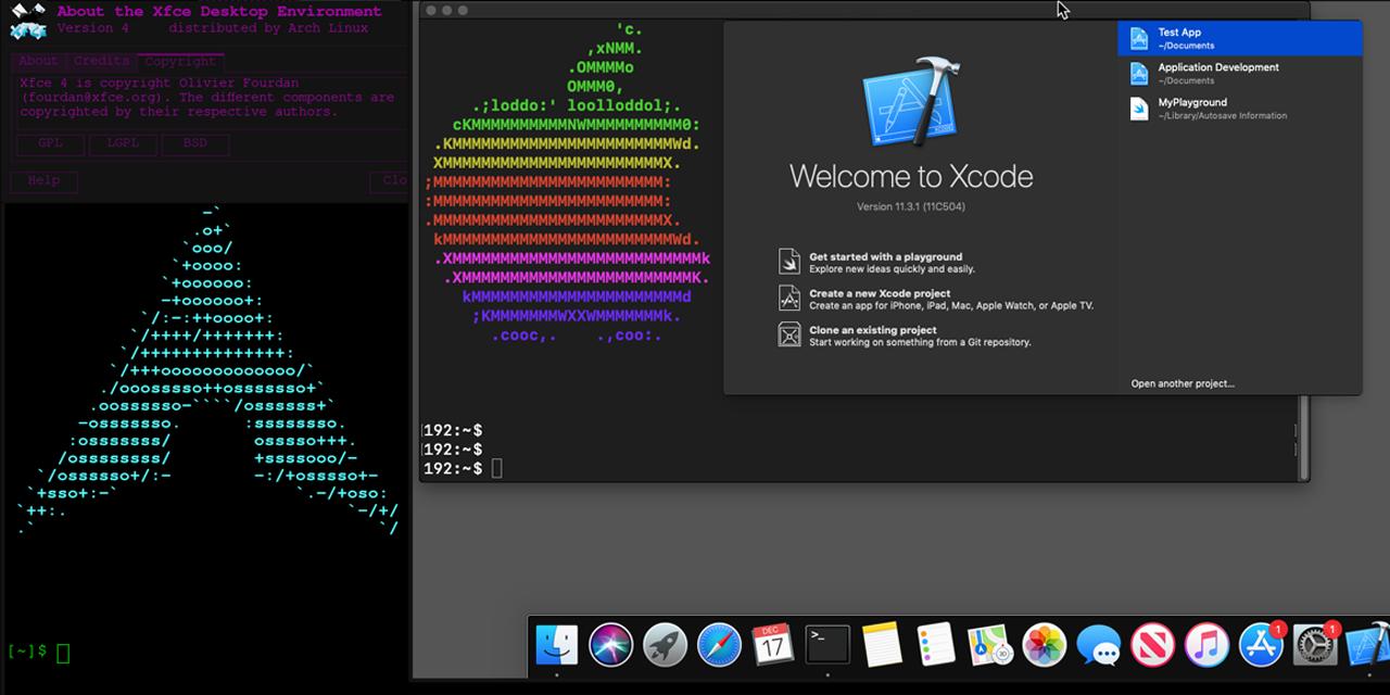 Docker-OSX