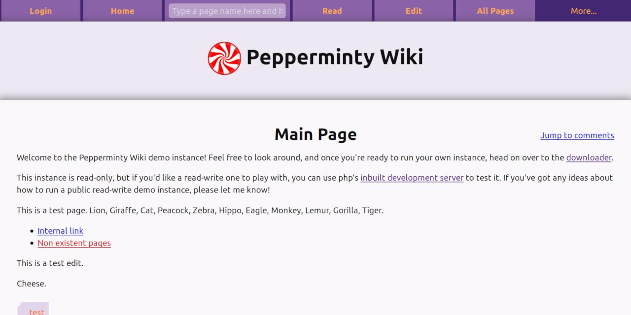Pepperminty-Wiki